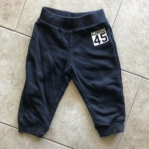 Children's Place Black Sweatpants